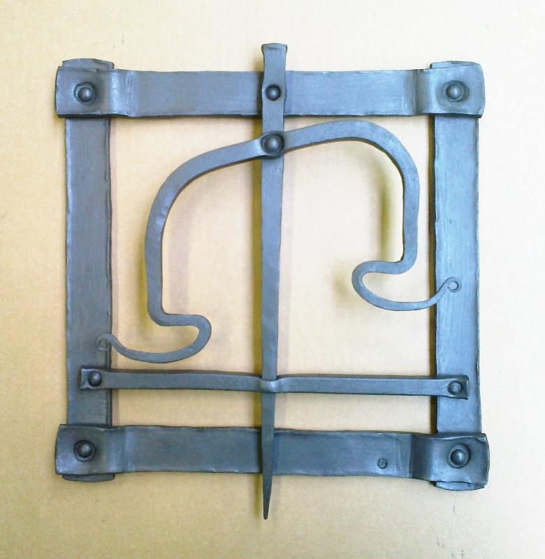 Znamení váhy - ručně kovaný obrázek - značkové zboží