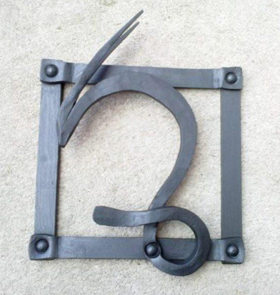 Znamení kozoroh - ručně kovaný obrázek - značkové zboží
